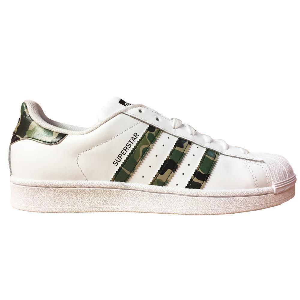 Hombre Adidas b44855 Superstar Foundation Zapatillas blancas b44855 Adidas 8b8f38