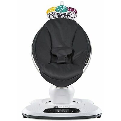 4Moms Mamaroo 4 Infant Reclining Seat Rocker Bouncer Swing 2017 Classic Black
