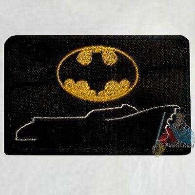 Batman Joker Card 1989 Embroidered Patch Jack Nicholson Michael Keaton Robin