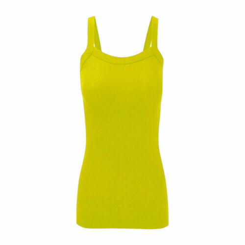 New-Ladies-Ribbed Vest//Gym Top Regular//Plus Sizes