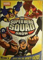 The Super Hero Squad Show Quest For The Infinity Sword Vol 3 7 Episodes+bonus