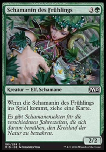 Schamanin des Frühlings mint, M15, deutsch 4 Shaman of Spring