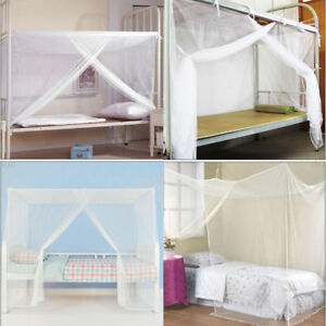 4-Corner-Bed-Canopy-Mosquito-Fly-Net-Full-Queen-Small-King-Size-Netting-Bedding