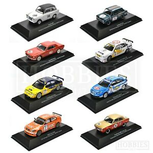 RACING-TOURING-CARS-1-43-SCALA-DIECAST-MODELLO-FORD-BMW-MINI-VAUXHALL-ATLAS-Editions