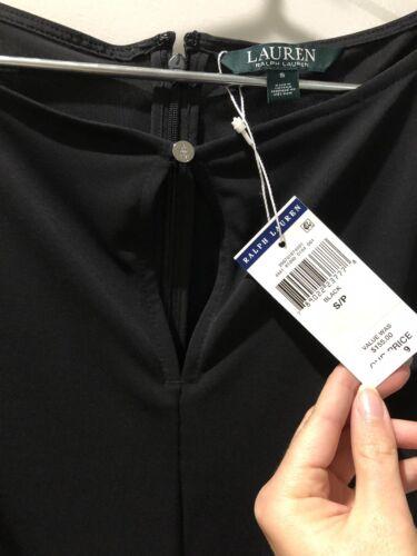 Size S Drattea Jumpsuit Black Msrp Ralph 155 Keyhole Lauren Nwt Dress 0qaO66