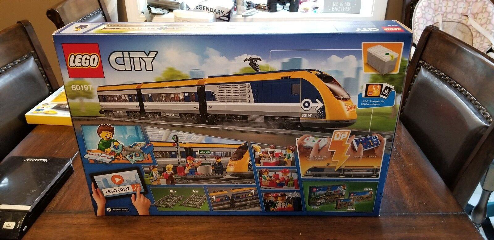 Lego City Set  60197 Passenger Train - Brand New and mint