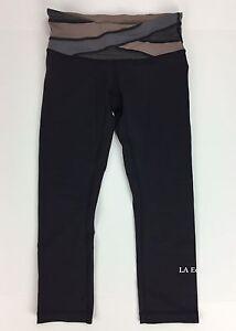 7d36835d5 Lululemon Athletica Legging Wunder Under Crop Size 4 Black NEW Yoga ...