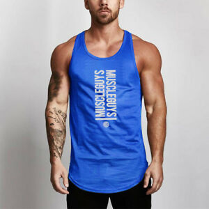 41a099381003b2 Men s High Quality Breathable Fitness Sports Gym Wholesale Tank Tops ...