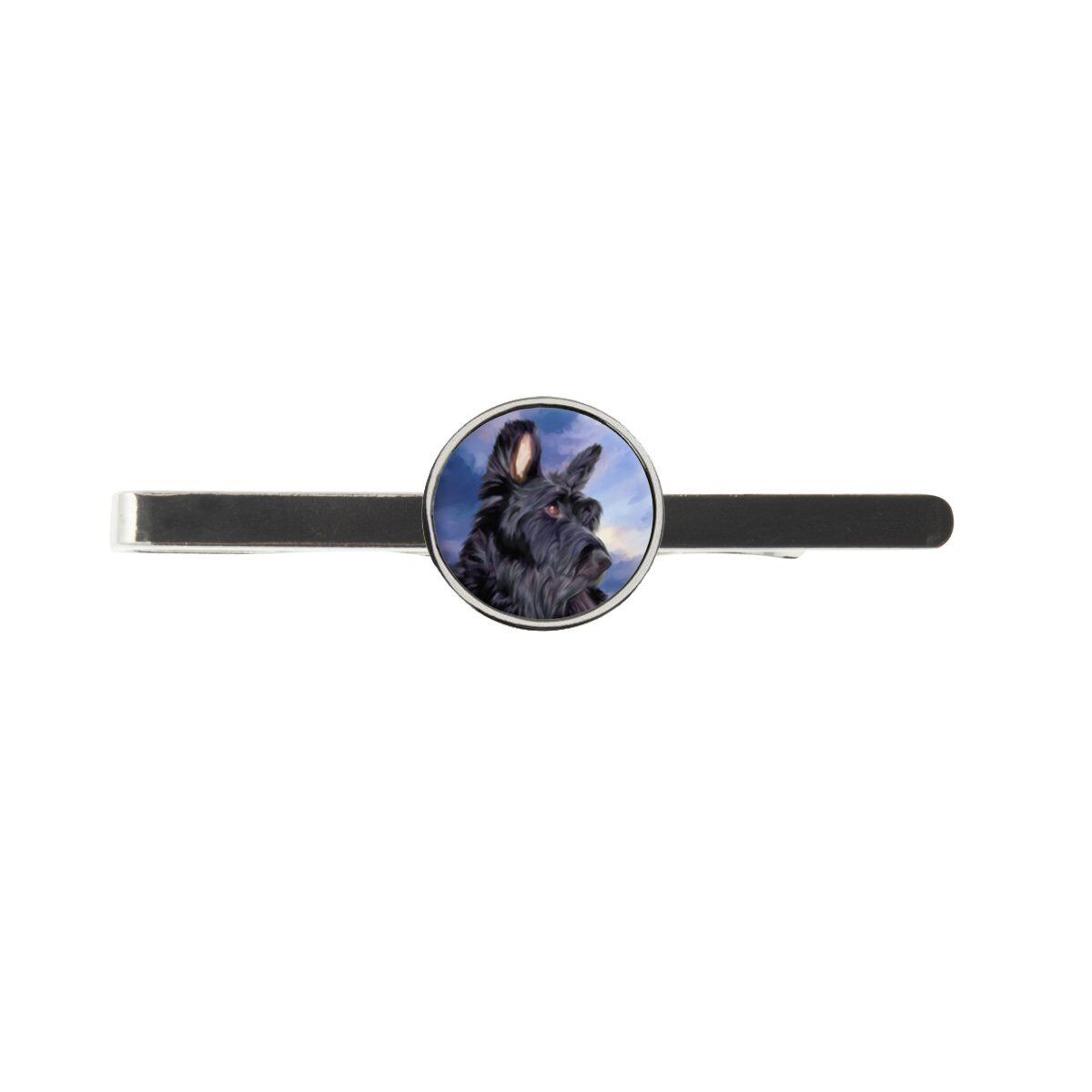 Scottish Terrier Mens Tie Slide Ideal Birthday Fathers Day Gift C547