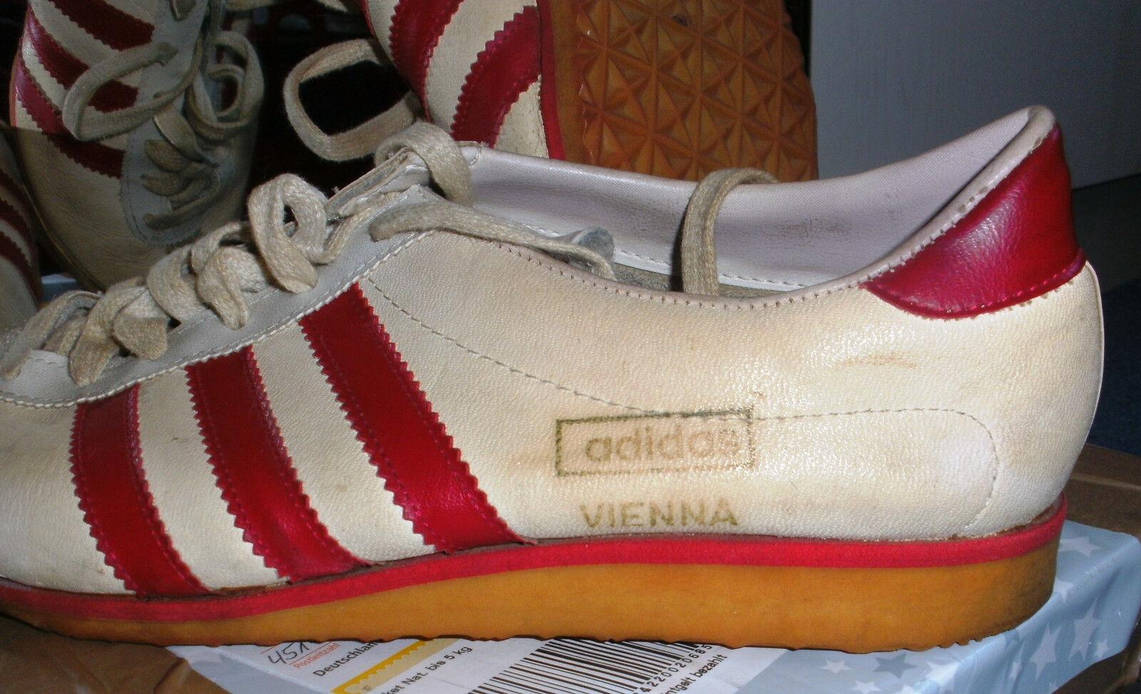 Seltene Adidas 70ger Vienna Sneaker Vintage 70ger Adidas Jahre, Gr. 39 c8b610