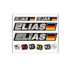 """Elias"" Auto Fahrrad Motorrad Kart Helm Fahrername Aufkleber Sticker Flagge"
