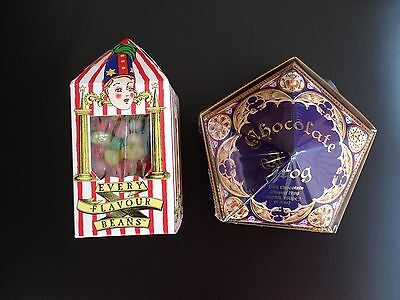 HARRY POTTER CHOCOLATE FROG OR BERTIE BOTTS JELLY BEANS (studio tour London)