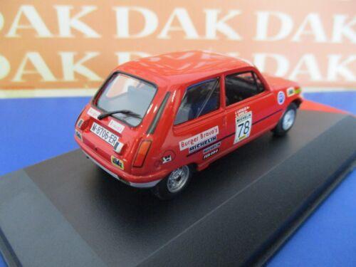Die cast 1//43 Modellino Auto Renault 5TS Rally Shalymar 1980 C Sainz