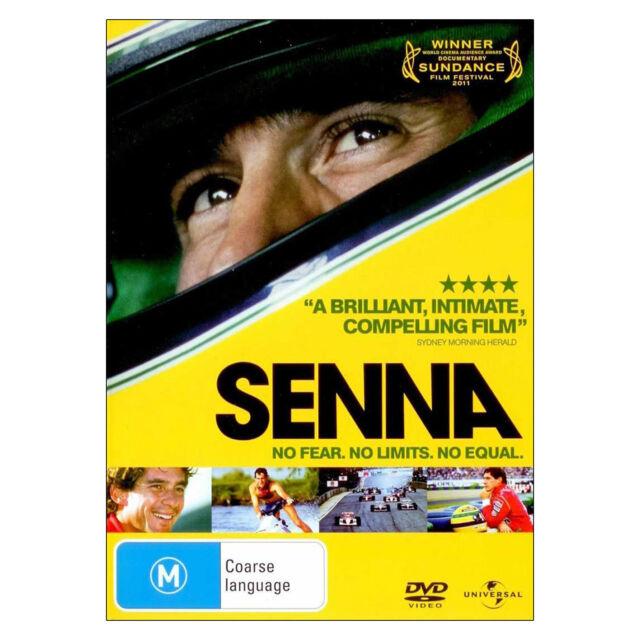 Senna DVD Brand New Region 4 Aust. - True Story Of Ayrton Senna