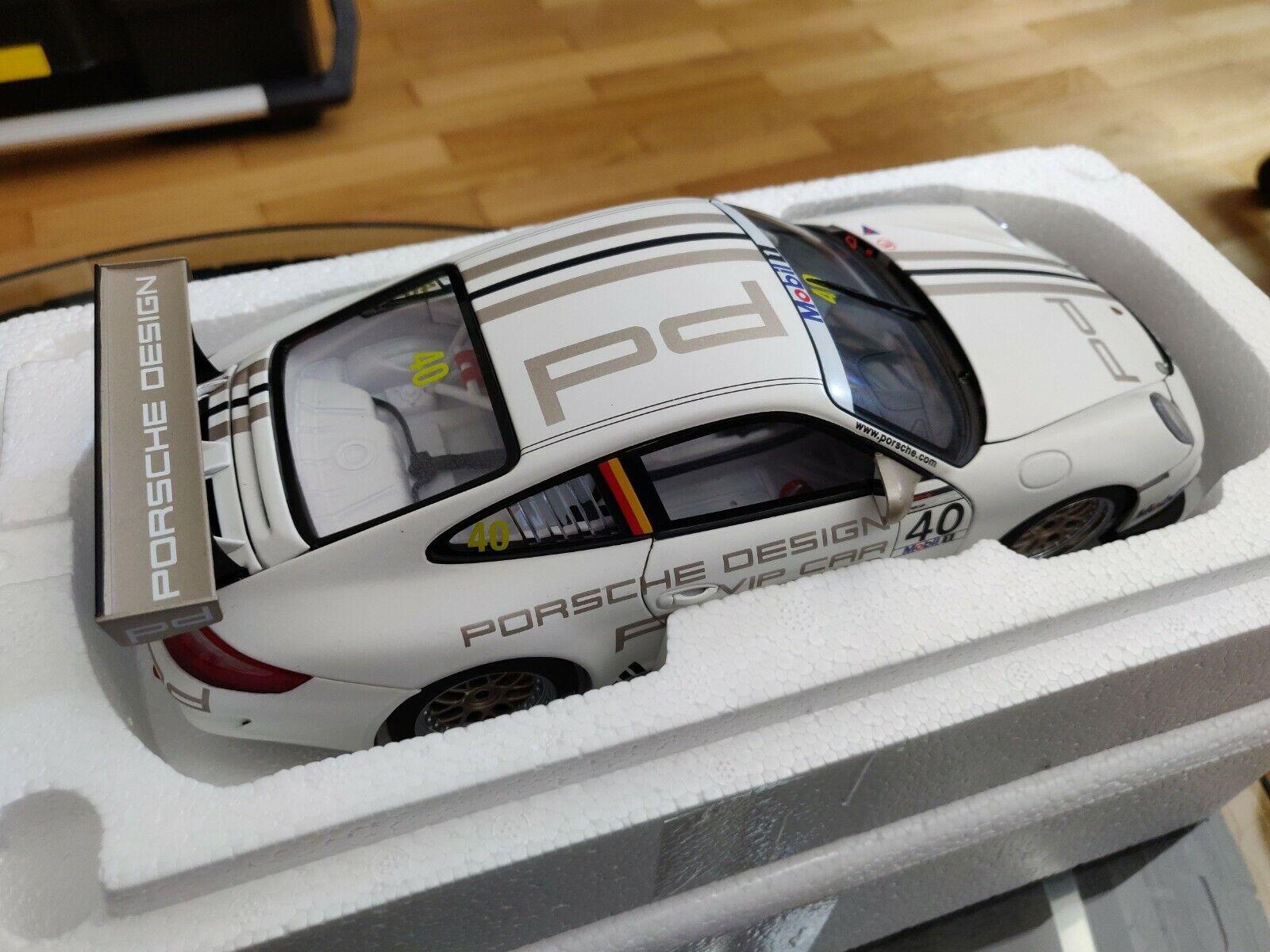 1 18 Autoart dealermodell wap02102318 Porsche 911 gt3 Cup rareza impecable