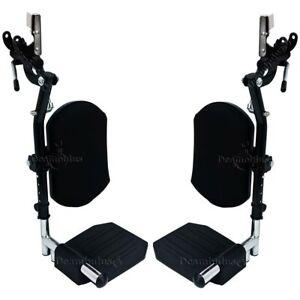 Pedane elevabili per sedia a rotelle pieghevole anziani alzagambe Moretti