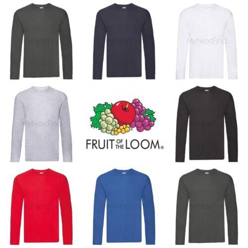 Fruit of the Loom Original Long Sleeve T-Shirt
