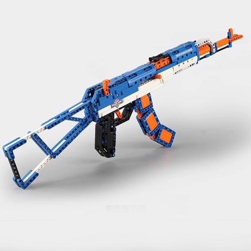 Technic AK47 Army Gun Weapon AK 47 42056 42083 Building Blocks Bricks MOC pistol