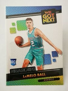 Panini Hoops 2020-21 N20 NBA SP We Got Next Hornets RC #3 Rookie LaMelo Ball