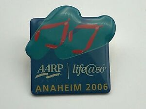 2006-AARP-Life-50-Anaheim-California-Convention-Lapel-Pin-B2