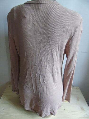 New Gr ub407 Tea Jacket Rose Top Pyjamas Couleur S Calida qx8wt47aW