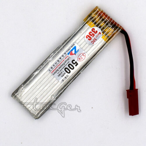 3.7V 20C LiPo Polymer Battery 500mAh 1S w//PCB for RC Helicopter Airplane 701855
