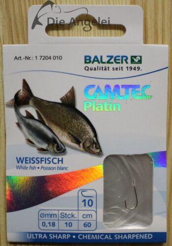 verschiedene Ausführung und Größe gebundene Haken Balzer Camtec Platin Edition
