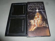 VINTAGE STAR WARS TRILOGY ORIGINAL SOUNDTRACK ANTHOLOGY 4 DISC BOXED SET 1993