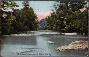 y30-Postcard-On-The-Peaceful-Swannanoa-In-The-Land-of-the-Sky