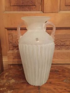Vintage-Vetreria-Operaia-LUX-Large-Art-Glass-Vase-Made-In-Italy