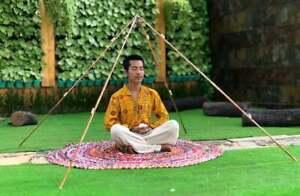 Copper Giza 6 Feet Meditation Pyramid (fordable)