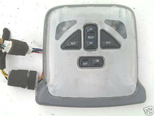 FORD PROBE GRAY SUNROOF SWITCH /& DOME LIGHT SW