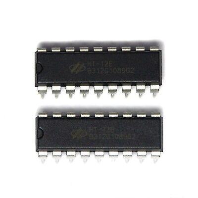 HT-12E Holtek 2pairs DIP IC Remote control HT-12D HT12D HT12E