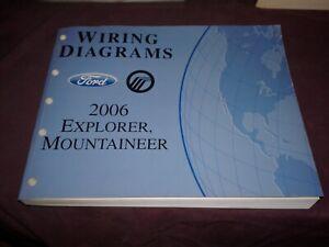 2006 ford explorer / mercury mountaineer wiring diagrams manual   ebay  ebay