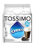 TASSIMO Oreo Cocoa Hot Chocolate Cookie Flavour 16 Discs 8 Cups 0489