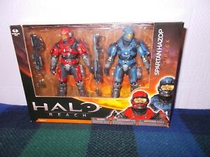 2 Pack Male McFarlane Toys Halo Reach Series 1 Spartan Hazop Custom