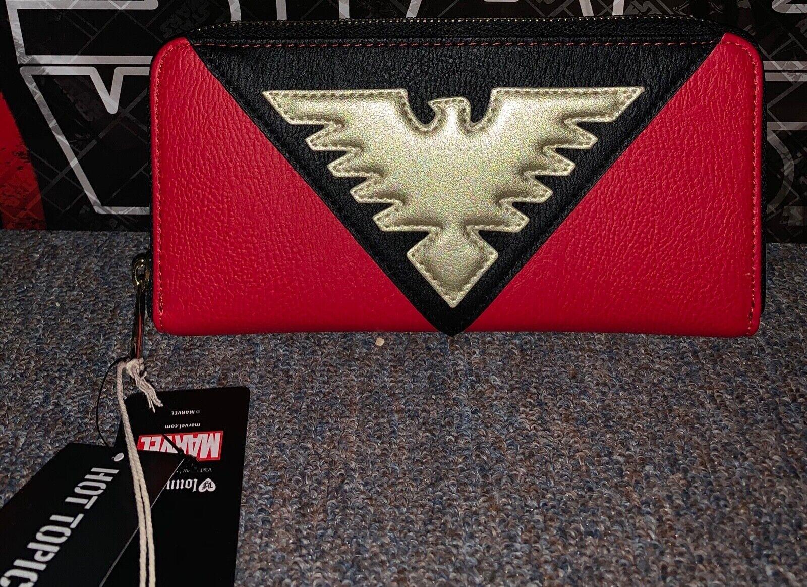Loungefly Marvel X-Men Dark Phoenix Wallet NWT