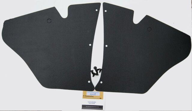 HOLDEN EJ EH  Kick Panels Black (pair) plus 6 Trim Buttons - Suit All Body Types
