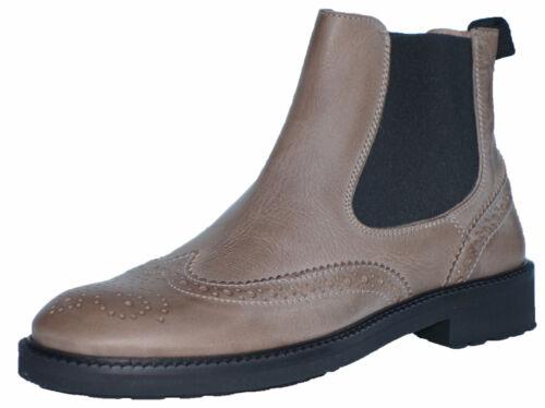 Gallucci 5078b zapatos de piel chelsea botas botines talla 32-35 nuevo