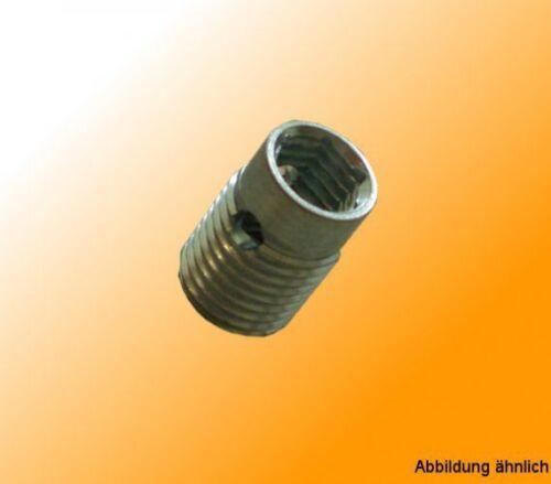 Schneidhülse S12//M8 B-Typ Nut 10