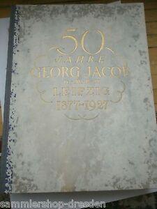 17334 50 Jahre Georg Jacob G.m.b.h. Leipzig 1877-1927 Sperrfedern Aufzugshebel