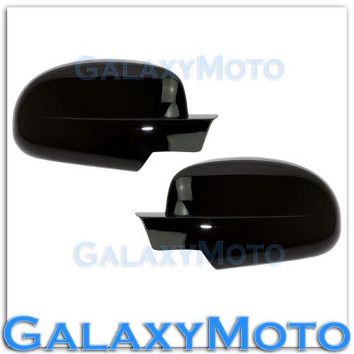 07-13 Chevy Silverado+Avalanche Gloss Black Full Mirror Cover 1 piece Design