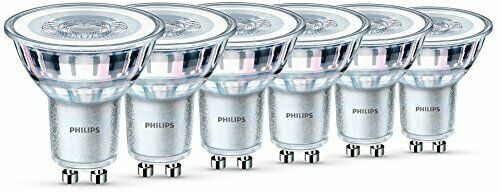 Philips LED Classic 4.6 W GU10 Glass LED Spot Light Replacement for 50 W Haloge