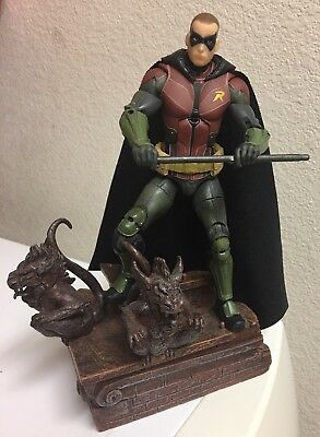 Custom Dc Multiverse Robin CAPE ONLY 1:12 Batman Dc Collectibles Red Robin