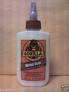 gorilla wood glue 4oz incredibly strong 52427620200 ebay. Black Bedroom Furniture Sets. Home Design Ideas