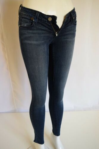Mid Blue Sz 26 Dark Woman Jean rise Lake New Paige Verdugo Sknny In Ultra June 6xqnB8If