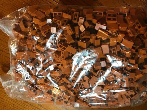 LEGO PARTS NEW #3004-1 x 2 BRICK-DARK ORANGE-100 PIECES