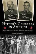 NEW Hitler's Generals In America by Derek R Mallett BOOK (Hardback)