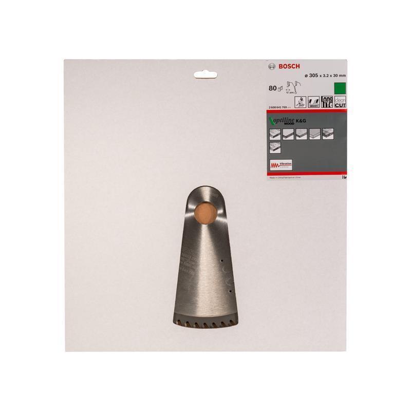 Bosch HM Sägeblatt Optiline Wood 305x3,2x30mm Z=80 WZ