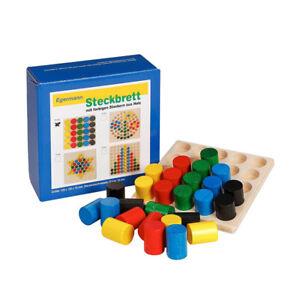 Holzspielzeug Mosaiklegespiel Dschungel NEU Holzpuzzle Kinderpuzzle Puzzle Erzgebirge